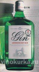 Виды джина: Сухой лондонский джин