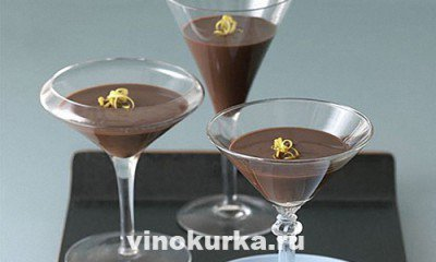 Домашний шоколадный ликёр