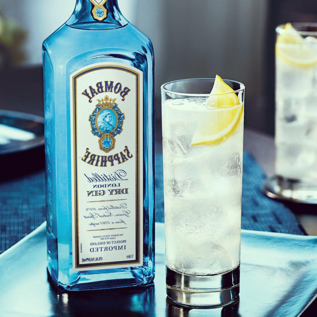 С чем пьется джин