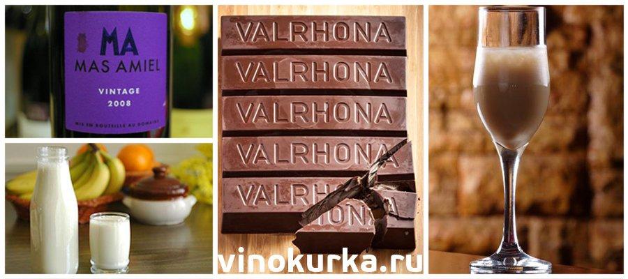 Проверенный рецепт шоколадного вина